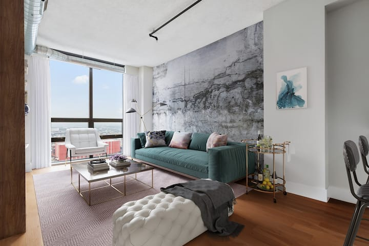 Upscale apartment home | 1BR in Jersey City