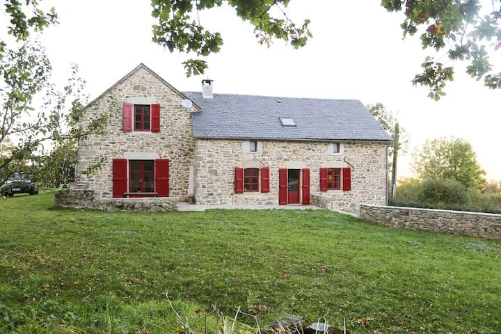 Maison de charme au coeur de l'Aveyron - Vaysse Rodier