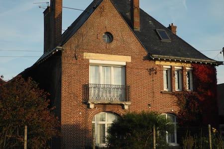 Poppy and bleuet house - Villers-Bretonneux