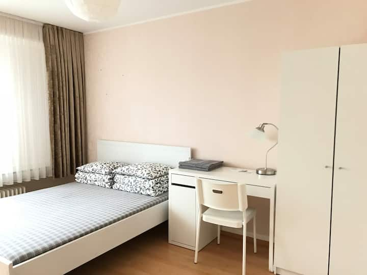 Ideal private room near city center