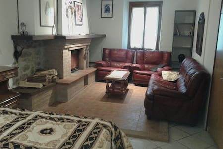 Cozy apartment in the old town-near train station - Bagni di Lucca - Byt