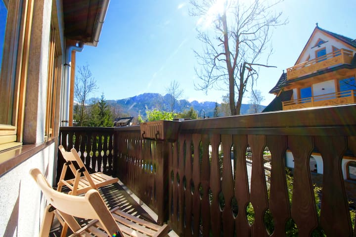 Mountain view apt. in town centre. - Zakopane