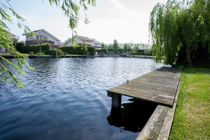 Vink Water View, super locatie, 12km van Amsterdam - Vinkeveen - Rumah