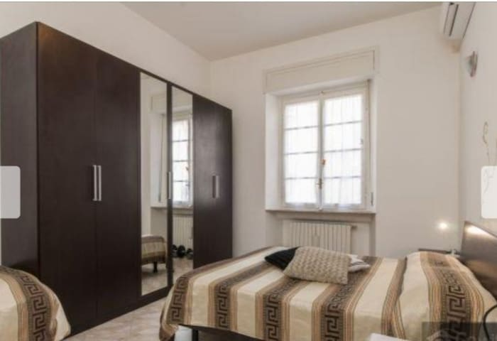 Self check-in + breakfast in Isola-Garibaldi 2beds