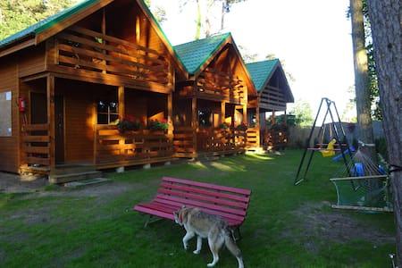 Klimatyczny, całoroczny domek drewniany