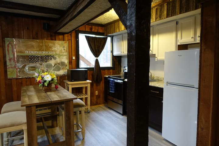 Newly renovated kitchen, imagine yourself in the morning here with a cup of joe!