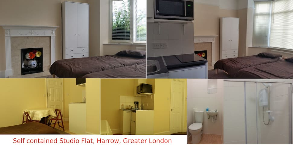 Self contained flat, 5mins to tube. - Harrow - Byt