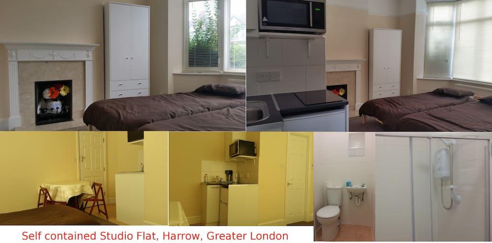Self contained flat, 5mins to tube. - Harrow - Apartmen