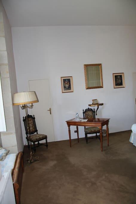 "detail van de kamer ""Isabelle de Poissy"""