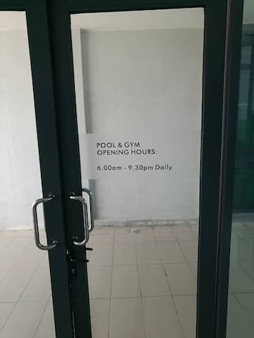 Access to Swimming Pool & Gym At Level 6