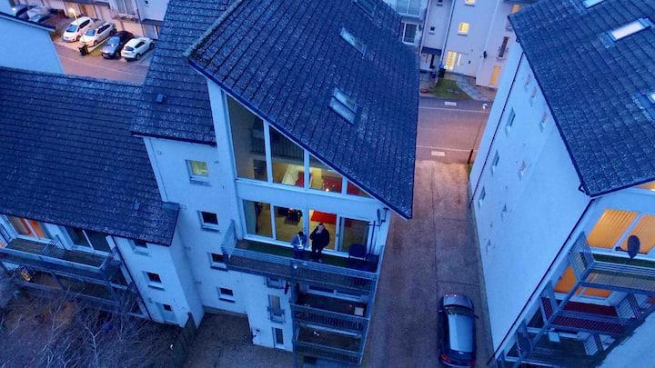 Penthouse flat Blairgowrie
