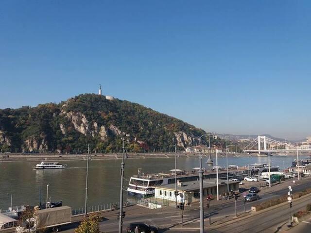 Danube and Buda Castle view/ x2/ City Center