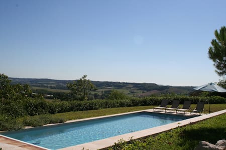 Le Clapier - Luxury house with huge heated pool - Verdun-sur-Garonne