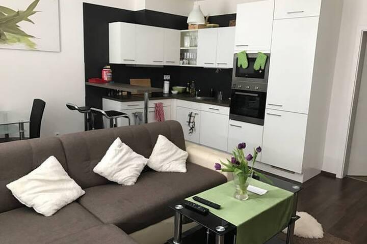Sunny great flat with big terrace - Prague - Apartmen
