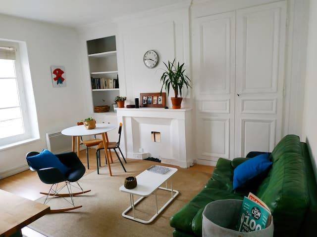 L'appartement de Benoît & Marion | Quai Sarrail |