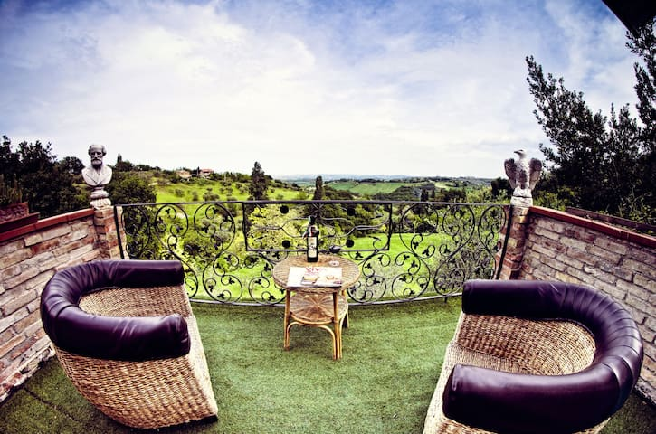 Casa con vista a Montegiano