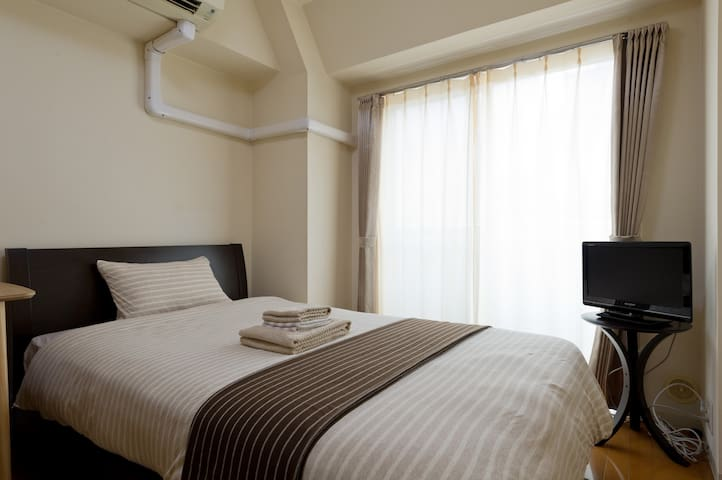 Central Shinjuku ★Cozy & Clean ★Luxury Simmons bed