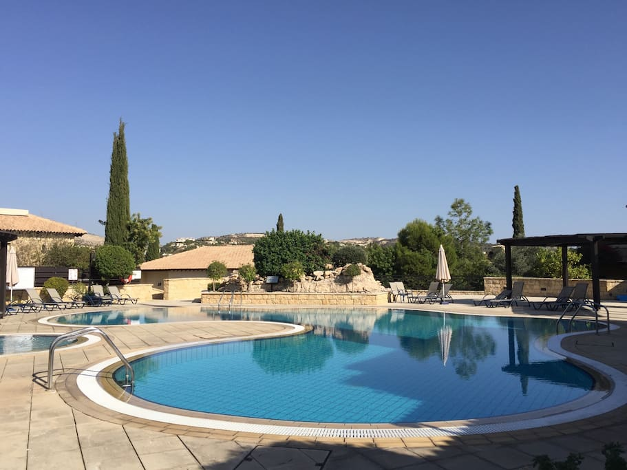 Communal pool, private access to Adonis Village residents only.