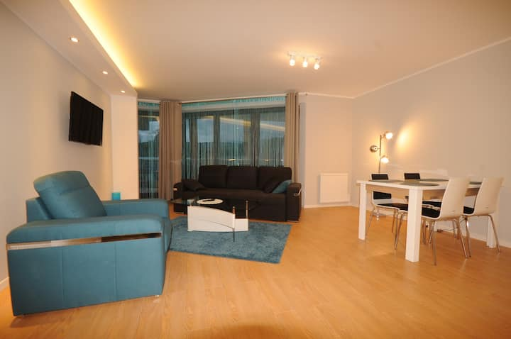 Charming apartment in a pleasant area