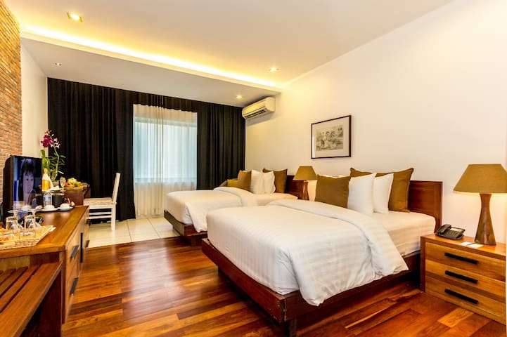 Beautiful twin room in Angkor Park area - Krong Siem Reap - Lejlighed