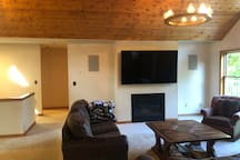 Spacious Great Room for games or just relaxing