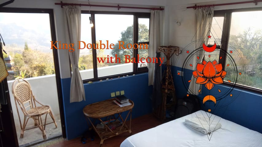 King Double Room in minimalistic style hotel