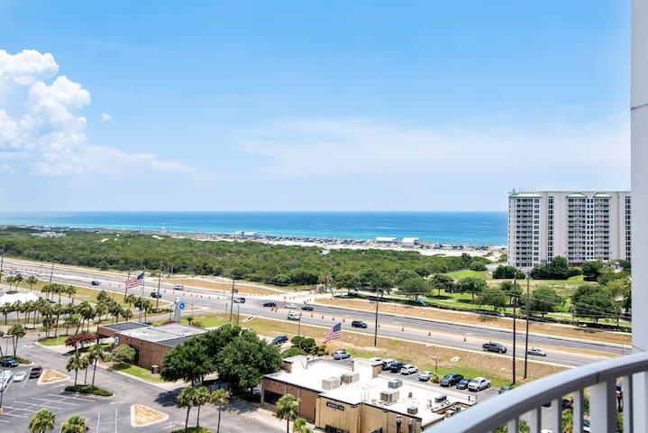 New! 12th Floor ~ 2BR/2BA ~ Gulf Views ~ #11214