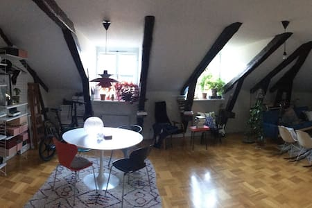 Loft studio Södermalm central - Stockholm
