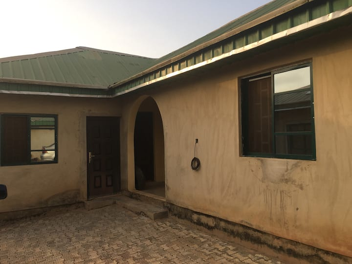 Glory Homes with large compound and parking space