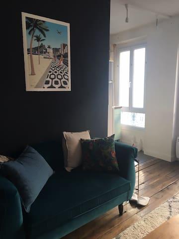Appartement 2 pièces à Belleville