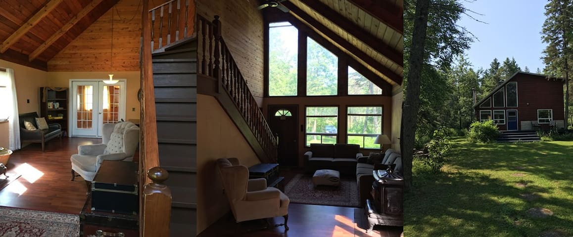 Beautiful Chalet Style Cabin in Silver Harbour