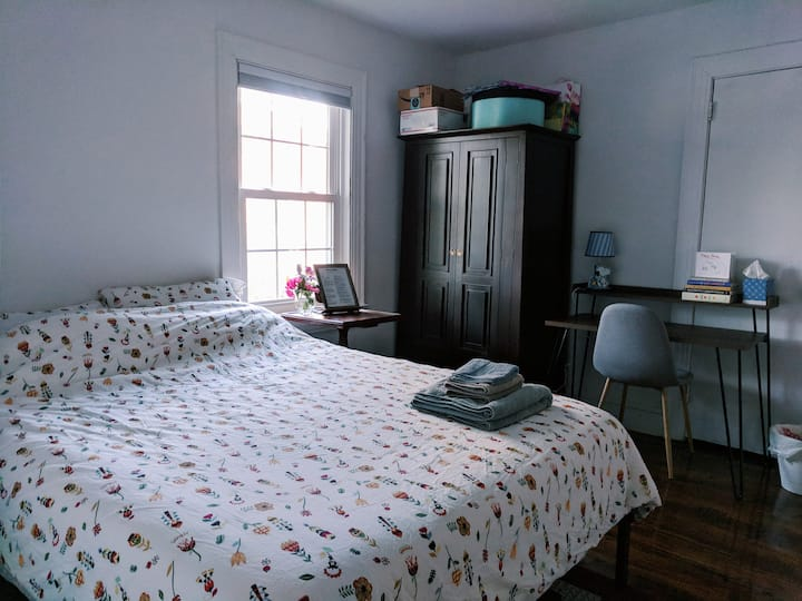 Private BnB 5 min from Vidant for Traveling Nurses