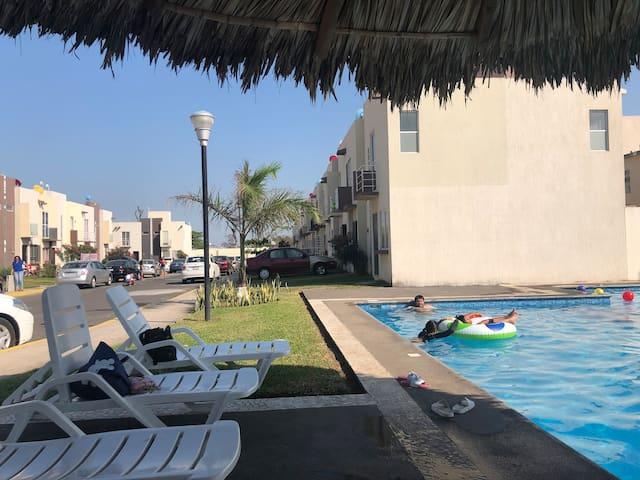 Casa con Alberca Tejería Veracruz