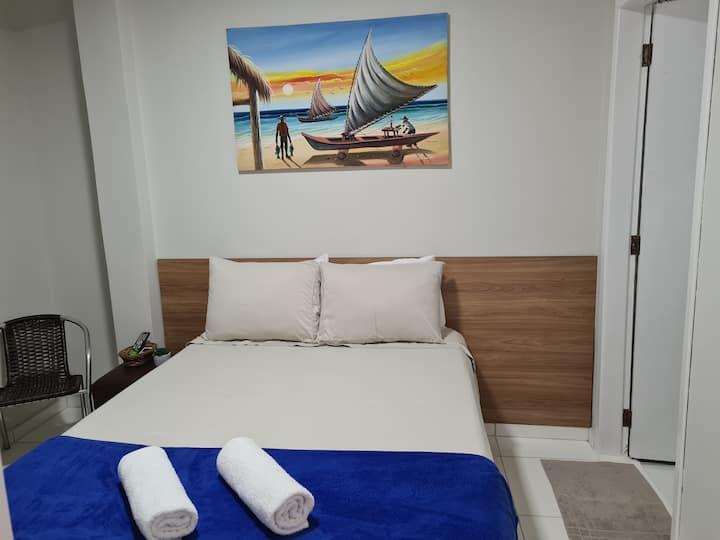 SF Pajuçara| Suite Acolhedora | 200m da Praia