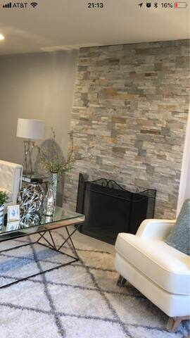 Fireplace with Nature stone