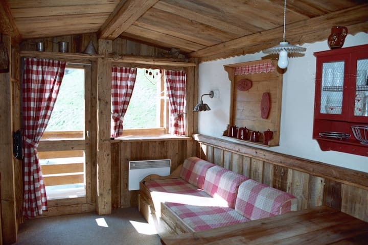 """Appartement de charme """"la grange au loup"""" - Saint-Martin-de-Belleville - Apartemen"""