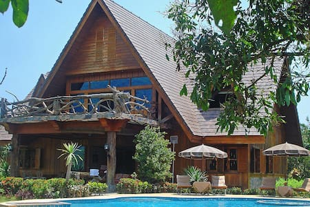 Countryside 6 bed retreat at Chiang Dao - Chiang Mai