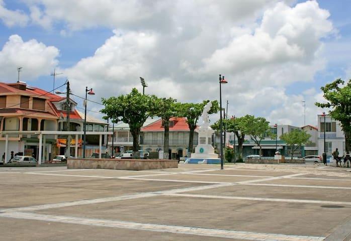 La Place Gerty Archimède, place de la mairie
