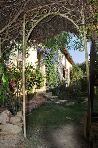 Chambre rustique & paisible chez l'habitant - Estang - 自然地形を利用した家