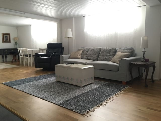 Large, relaxing space with sauna, near airport - Vantaa