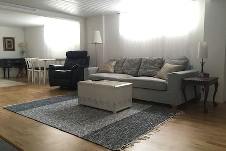 Large, relaxing space with sauna, near airport - Vantaa - Hus