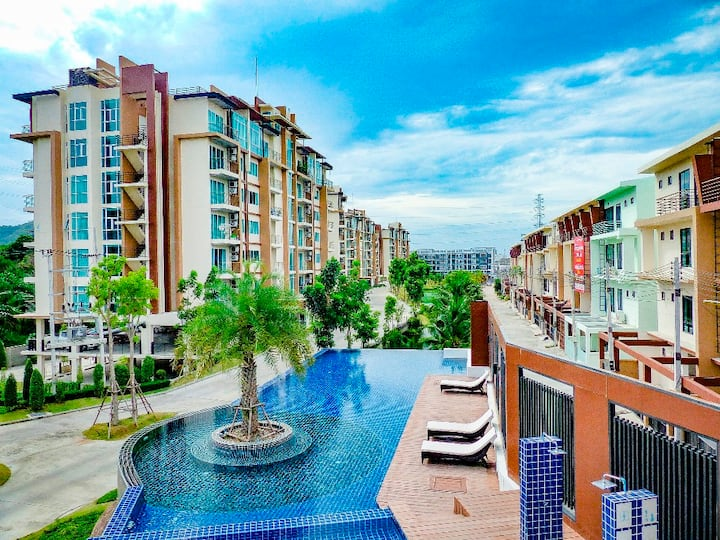 Condo have swimming pool and gym