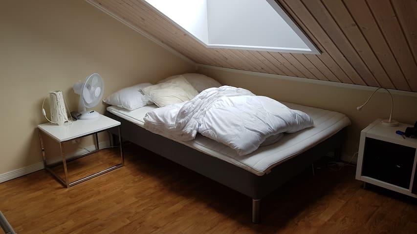 Soverom 4 (lofts etasje), dobbeltseng