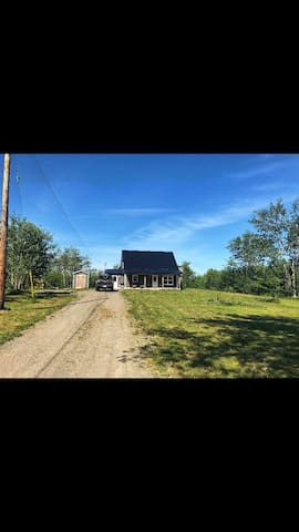 Home in Country Setting on 8 Acres • Close to Bay