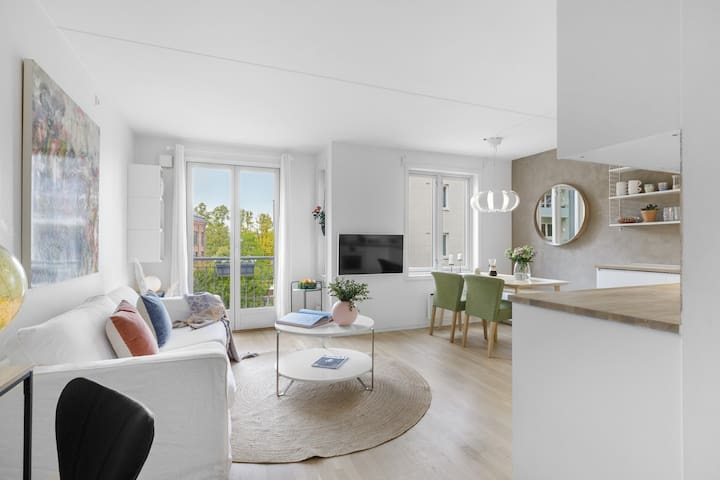 Modern and cozy flat in the heart of oslo.