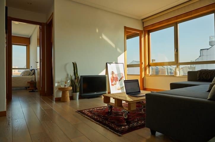 Precioso apartamento con vistas - A Coruña - Appartement