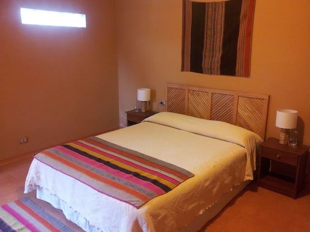Beautiful room in a green and convenience location - San Pedro de Atacama - Bed & Breakfast