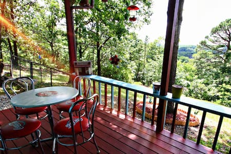 Private or Group Lodging with Ozark Mountain Views