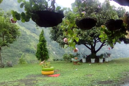 Camping en Bucaramanga, clima frio, hermosa vista