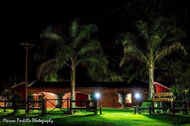 Habitaciones en Carlos Pellegrini Laguna del Ibera